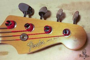 Ripristino Paletta Basso Fender Jazz 1966