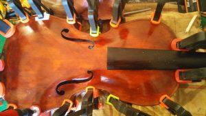 Sostituzione zoccolo violino Prokob del 1920